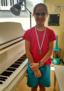 Olivia won Gold in Ear Training and Compose/Create! She also won Silver in Symbols/Terms! Fabulous effort, Olivia!