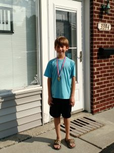 Joey won Gold in the Compose/Create Event! Wonderful creativity, Joey!