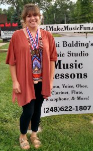 Emily won Gold in Symbols/Terms and Bronze in Performance. Congratulations, Emily!